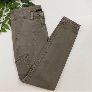 J. Crew Trouper City Fit Skinny Cargo Pants Khaki